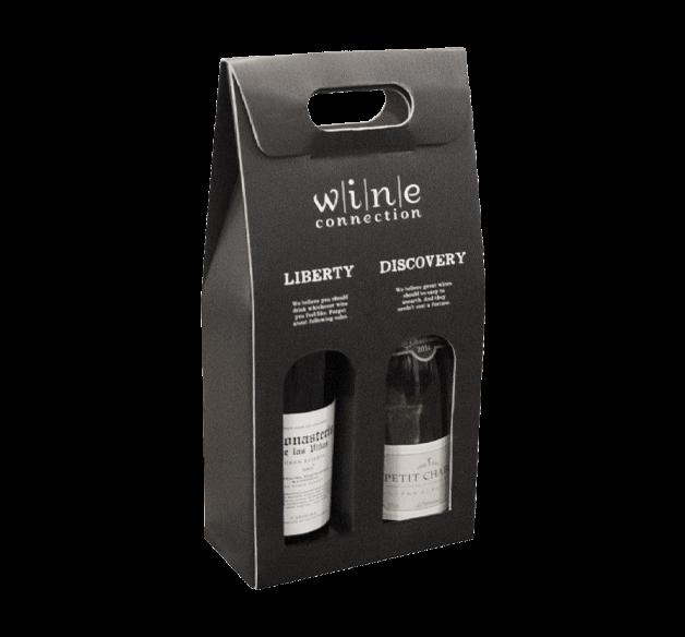 2 Bottle Wine Gift box