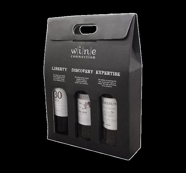 3 Bottle Wine Gift box
