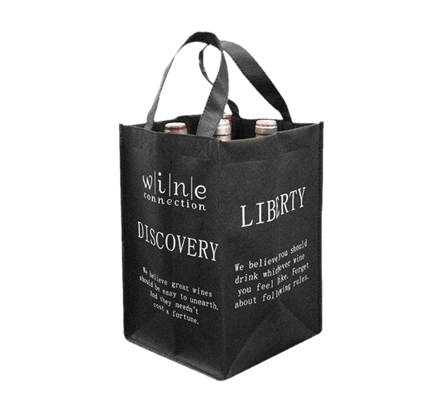 4 Bottle Wine Non Woven bag